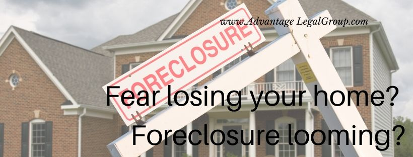 Fear losing your home? Foreclosure looming?