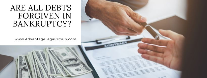 Are All Debts Forgiven in Bankruptcy?