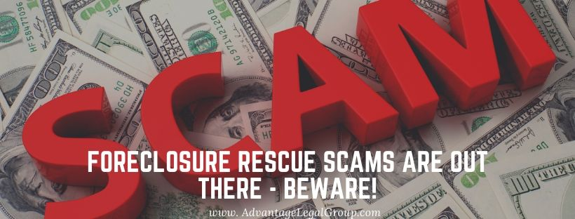 Foreclosure Rescue Scams Are Out There - BEWARE!