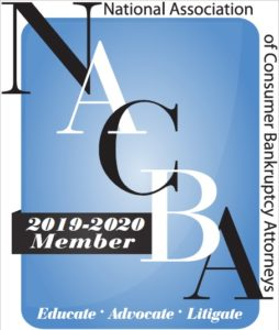 NACBA Logo National Association of Consumer Bankruptcy Attorneys Member