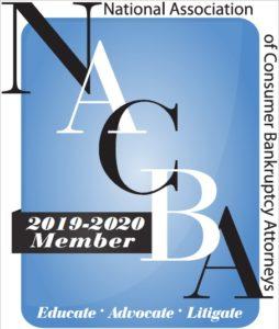 NACBA Logo National Association of Consumer Bankruptcy Attorneys Member