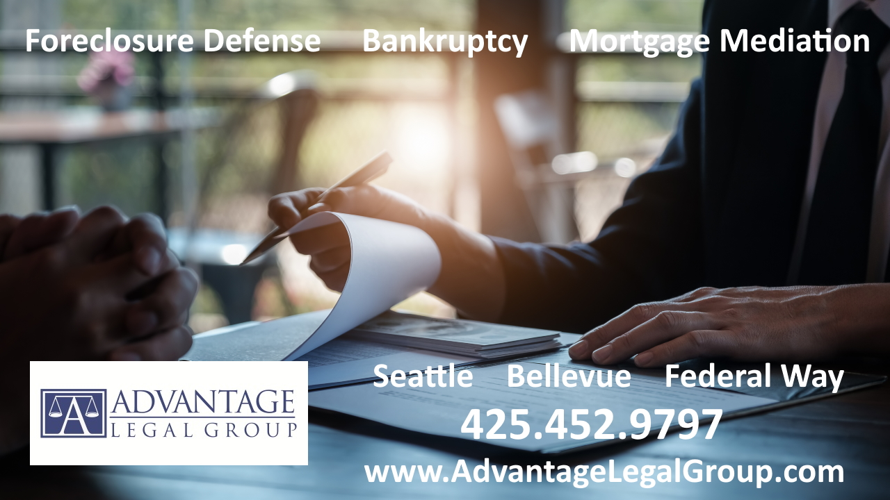 Bellevue Bankruptcy Attorney Legal Consultation with Lawyer