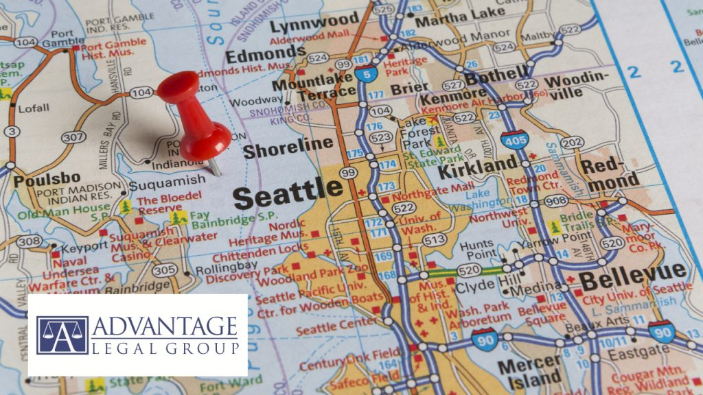 Map of Bellevue Bankruptcy Attorney in King County. Bellevue and Seattle lawyer and bankruptcy law firm for filing Chapter 7 Bankruptcy in Bellevue, King County and Washington State including Bellevue, Kirkland, Redmond, Bothell, Issaquah, Sammamish, Mercer Island, Renton, Kent, Federal Way and Seattle