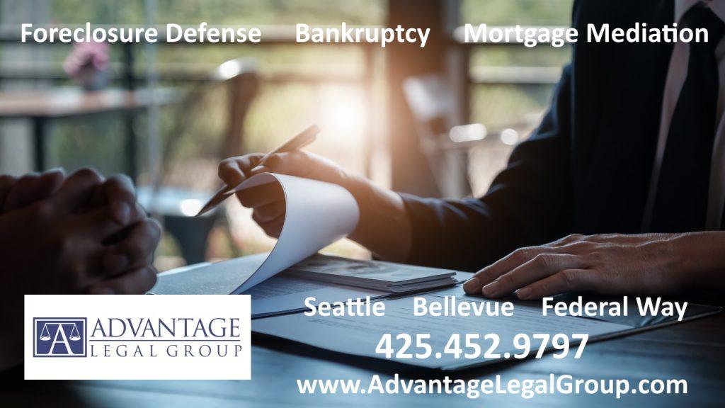 Bellevue Bankruptcy Attorney Bellevue Washington Foreclosure Defense mortgage mediation Lawyer in Bellevue Kirkland Seattle WA