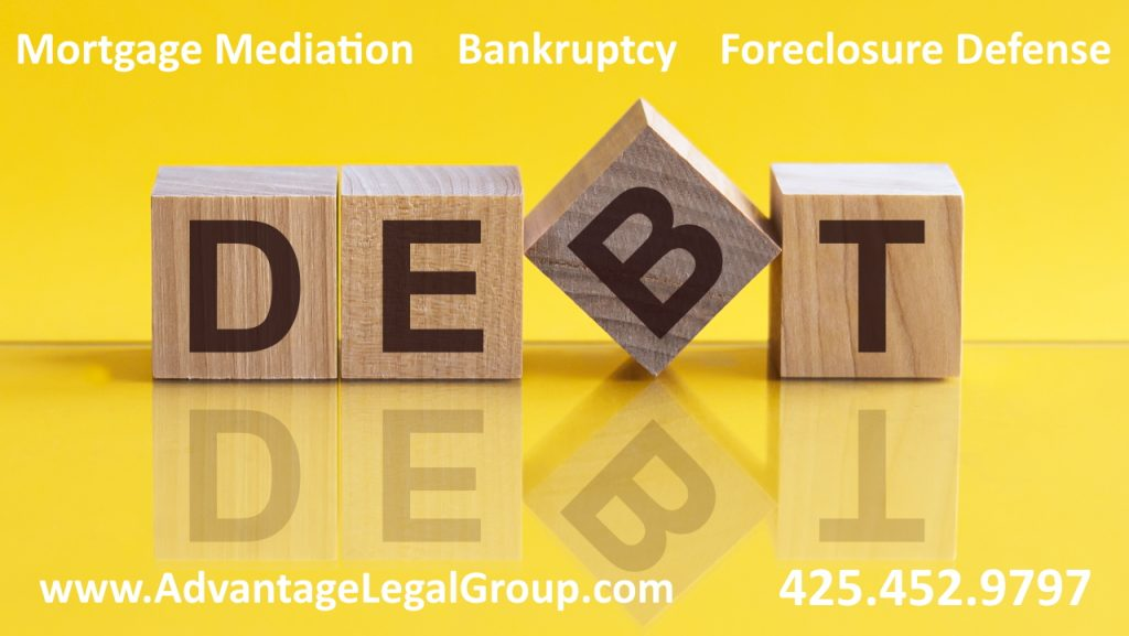 Bellevue Bankruptcy Attorney Kirkland Washington Foreclosure Defense mortgage mediation Lawyer Debt Relief Law Firm