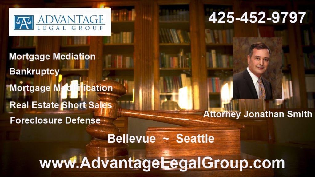 Bellevue Bankruptcy Attorney Bellevue Washington Foreclosure Defense mortgage mediation Lawyer